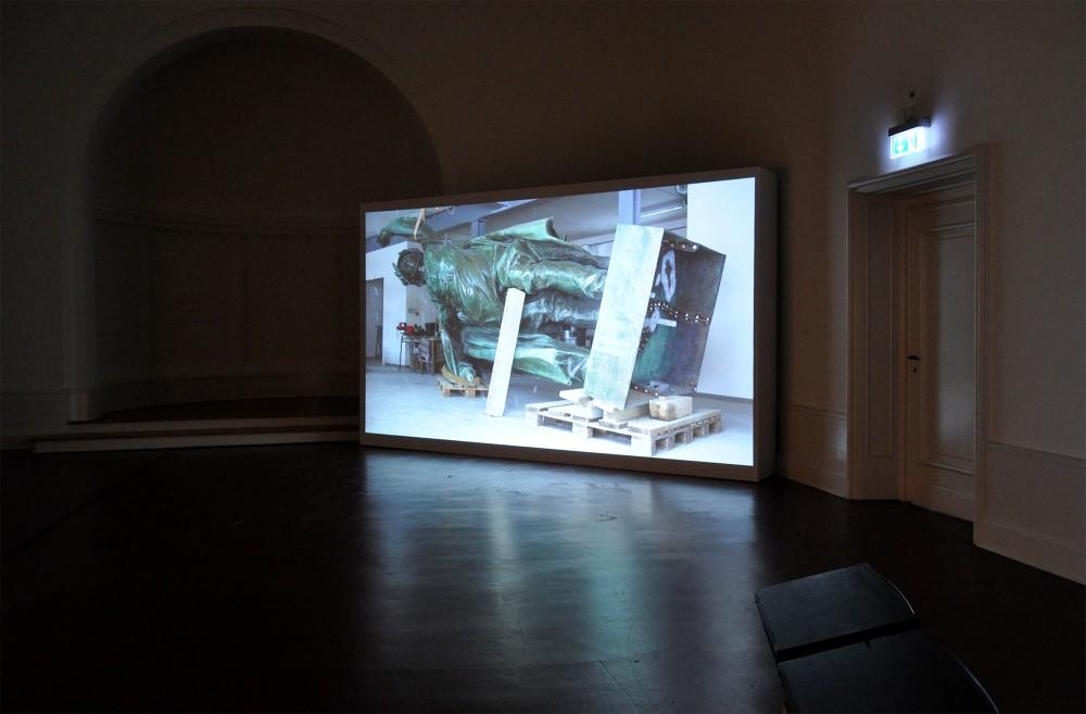 Exhibition view, Max-Pechstein-Förderpreis, Kunstsammlungen Zwickau, Germany, 2013