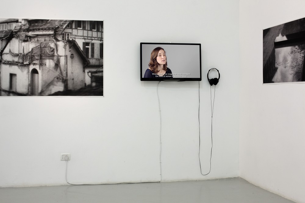 Exhibition view, Traces at Art Space Tel Aviv, Israel, 2015