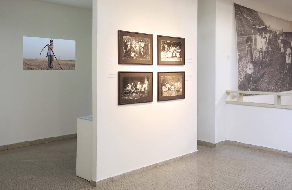 Exhibition view, Zipora David / Pioneer Women Photographer, Museum Beit Sturman, Ein Harod, Israel' 2016