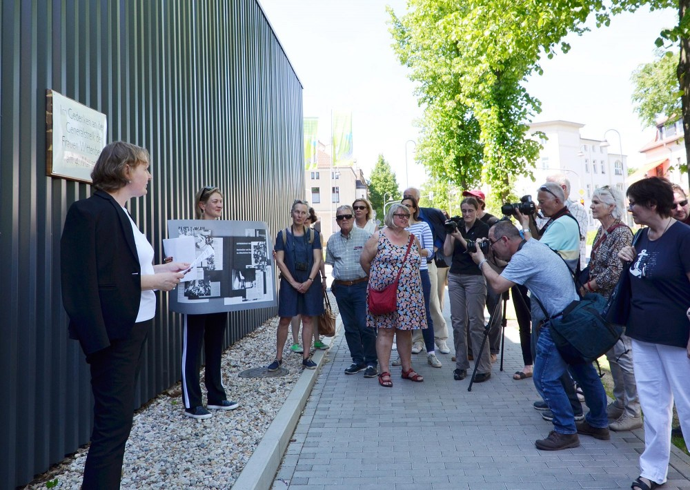 Inauguration of the memorial plaque, The forgotten mobilization, Lutherstadt Wittenberg, Germany 2017